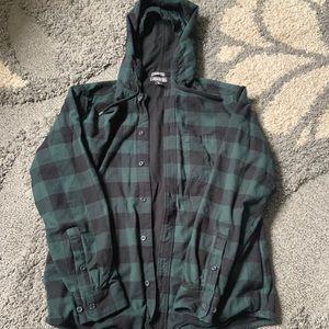 Eddie Bauer flannel jacket